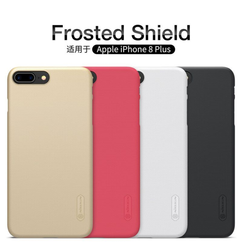 Nillkin Super Frosted Shield Matte cover case for Apple iPhone 8 Plus + free screen protector order from official NILLKIN store