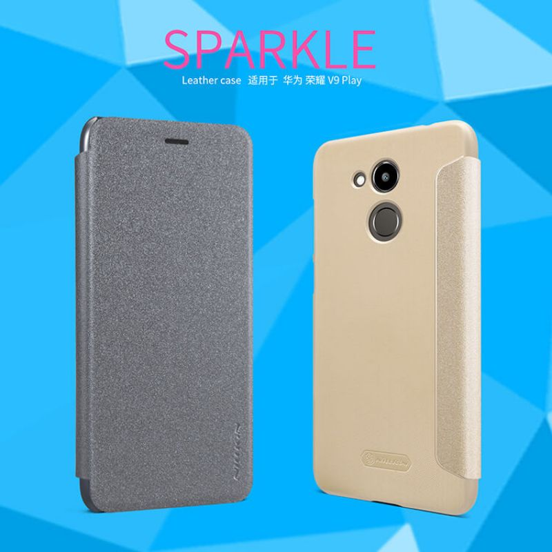 Nillkin Sparkle Series New Leather case for Huawei Honor V9 Play order from official NILLKIN store