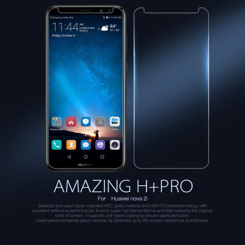 Nillkin Amazing H+ Pro tempered glass screen protector for Huawei Nova 2i order from official NILLKIN store