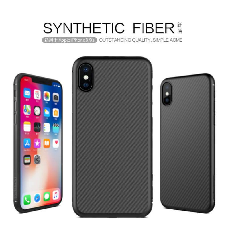 Nillkin Synthetic fiber Series protective case for Apple iPhone X order from official NILLKIN store