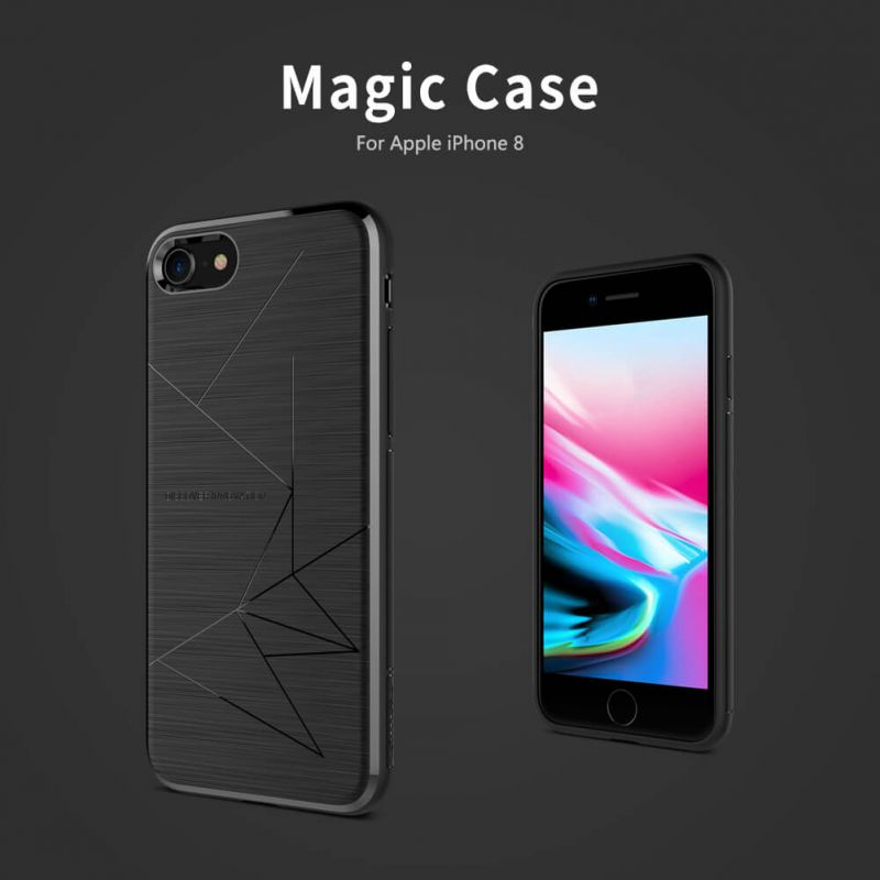 Nillkin Magic Qi wireless charger case for Apple iPhone 8 order from official NILLKIN store