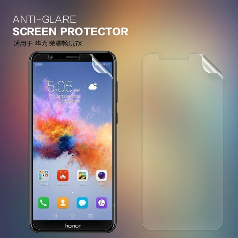 Nillkin Matte Scratch-resistant Protective Film for Huawei Honor 7X order from official NILLKIN store