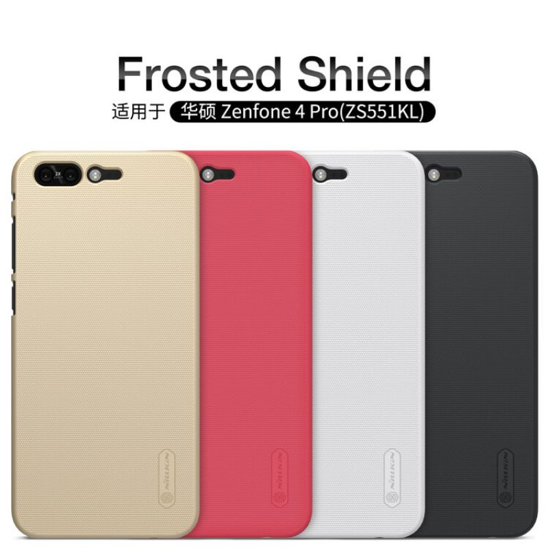 Nillkin Super Frosted Shield Matte cover case for Asus Zenfone 4 Pro (ZS551KL) + free screen protector order from official NILLKIN store