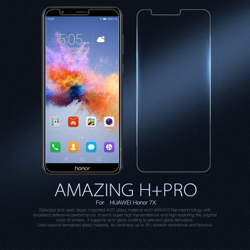 Nillkin Amazing H+ Pro tempered glass screen protector for Huawei Honor 7X order from official NILLKIN store