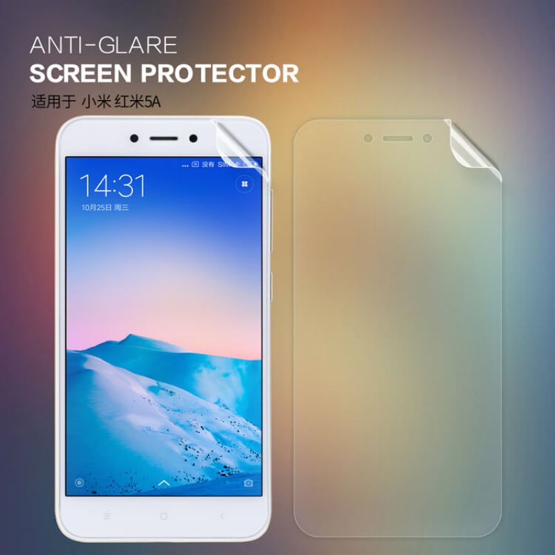 Nillkin Matte Scratch-resistant Protective Film for Xiaomi Redmi 5A order from official NILLKIN store