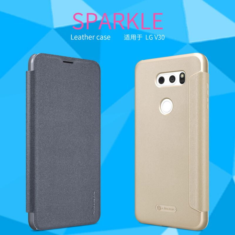 Nillkin Sparkle Series New Leather case for LG V30 order from official NILLKIN store