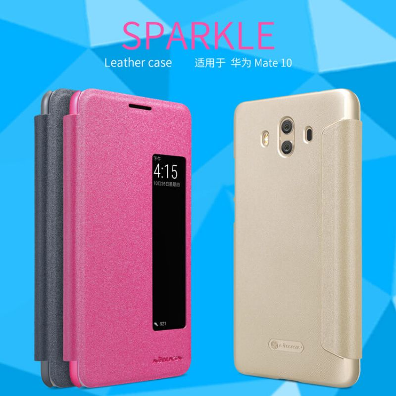 Nillkin Sparkle Series New Leather case for Huawei Mate 10 order from official NILLKIN store