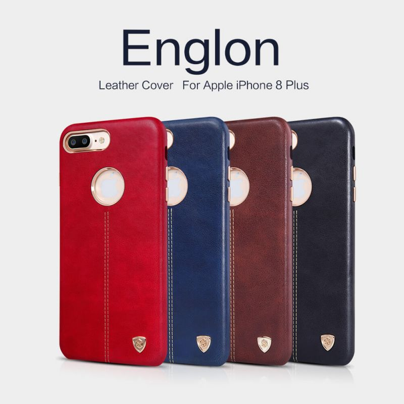 Nillkin Englon Leather Cover case for Apple iPhone 8 Plus order from official NILLKIN store