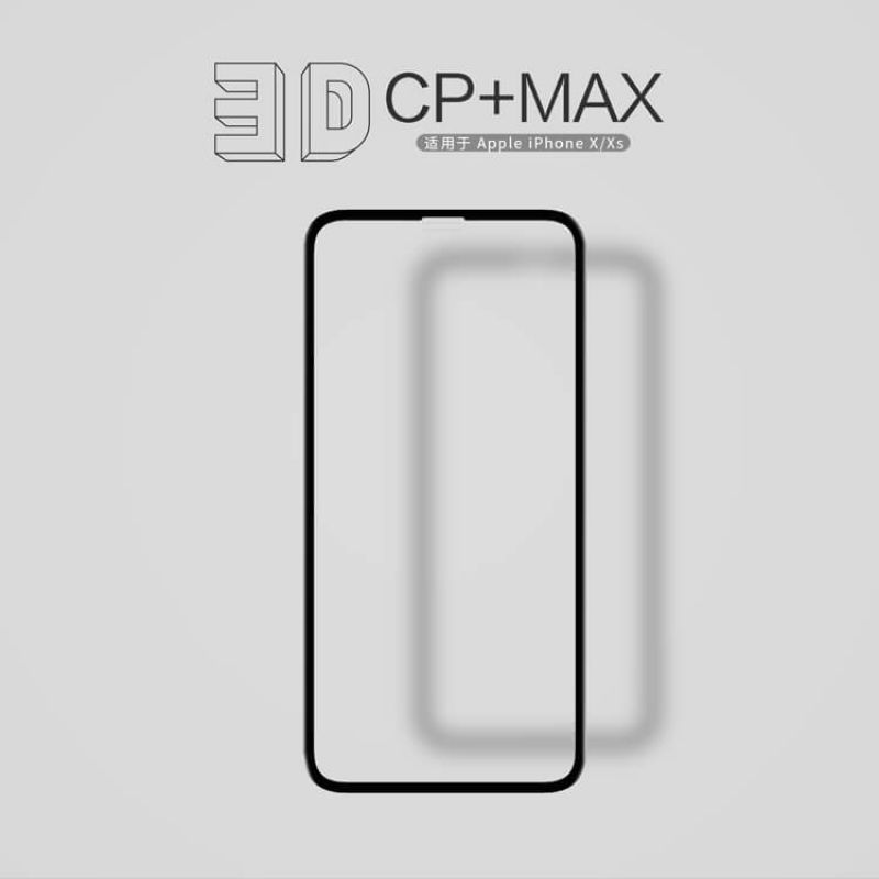 Nillkin Amazing 3D CP+ Max tempered glass screen protector for Apple iPhone X order from official NILLKIN store