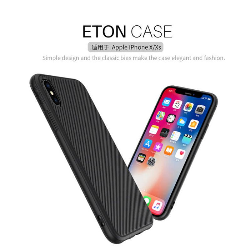 Nillkin ETON series case for Apple iPhone X order from official NILLKIN store