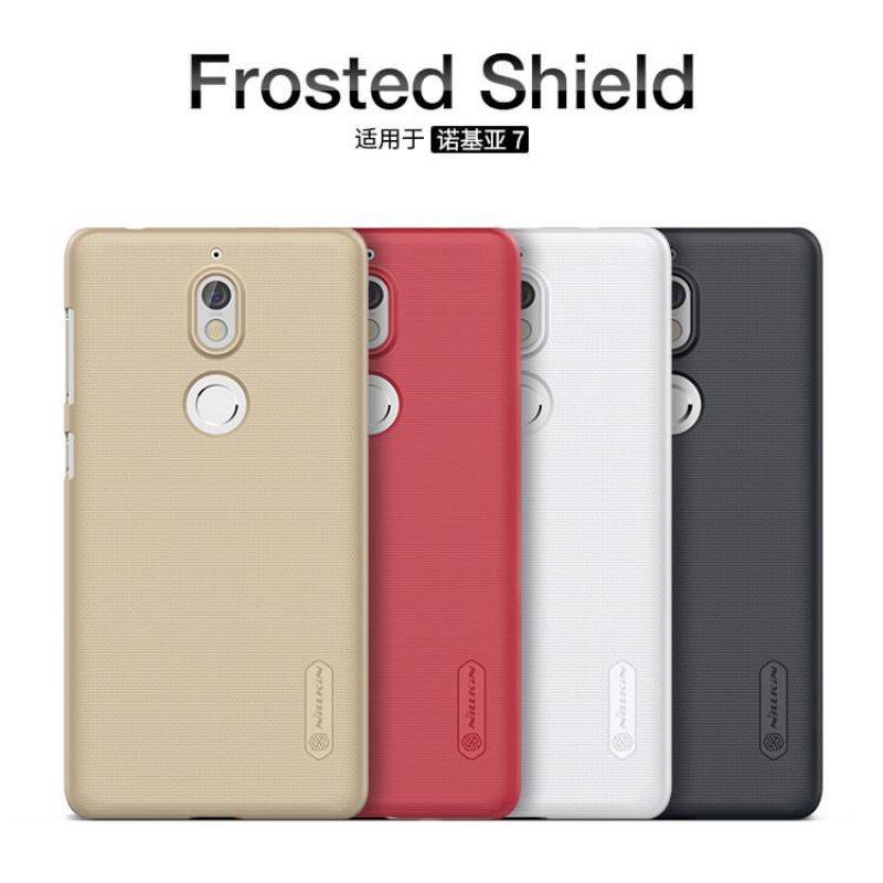 Nillkin Super Frosted Shield Matte cover case for Nokia 7 + free screen protector order from official NILLKIN store