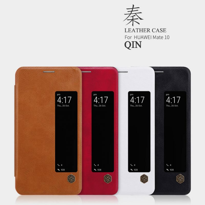 Nillkin Qin Series Leather case for Huawei Mate 10 order from official NILLKIN store
