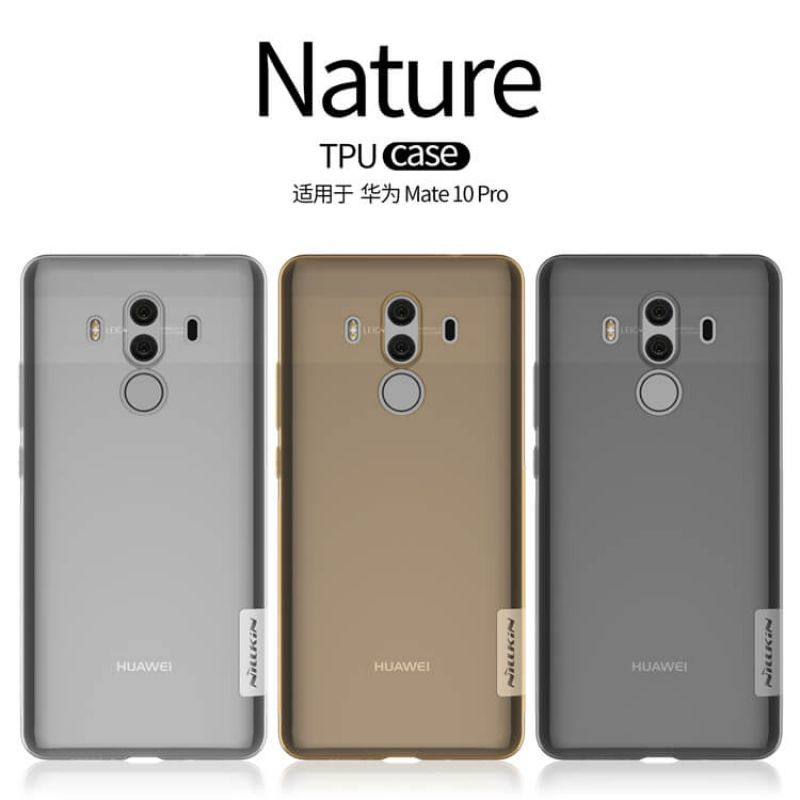 Nillkin Nature Series TPU case for Huawei Mate 10 Pro order from official NILLKIN store