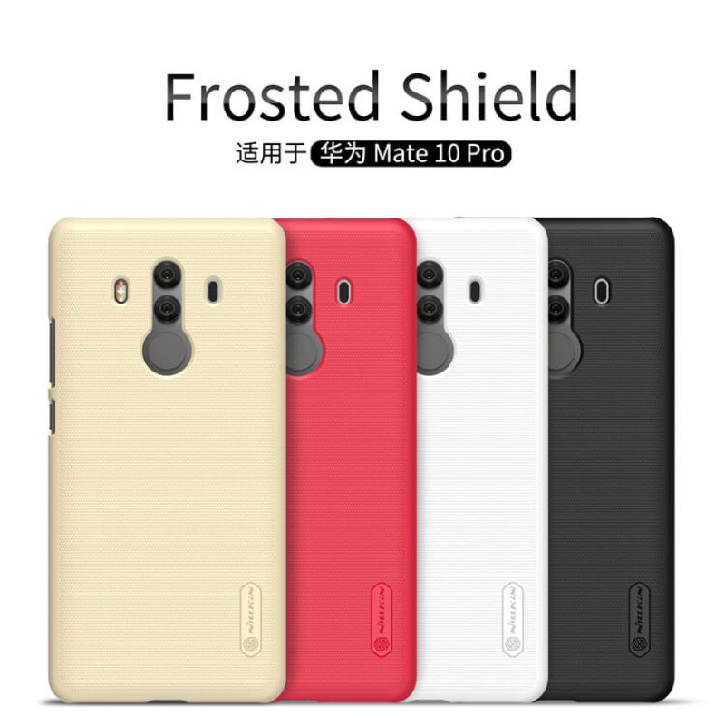 Nillkin Super Frosted Shield Matte cover case for Huawei Mate 10 Pro + free screen protector order from official NILLKIN store