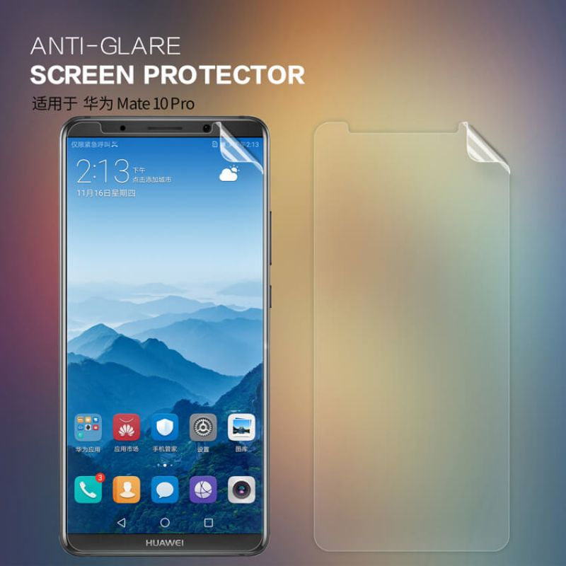 Nillkin Matte Scratch-resistant Protective Film for Huawei Mate 10 Pro order from official NILLKIN store
