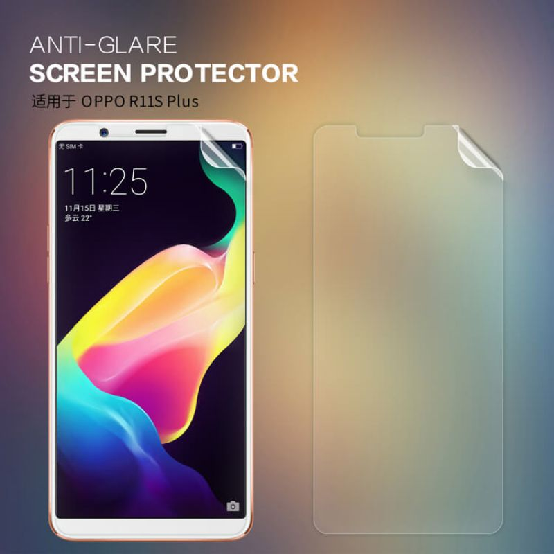 Nillkin Matte Scratch-resistant Protective Film for Oppo R11S Plus order from official NILLKIN store
