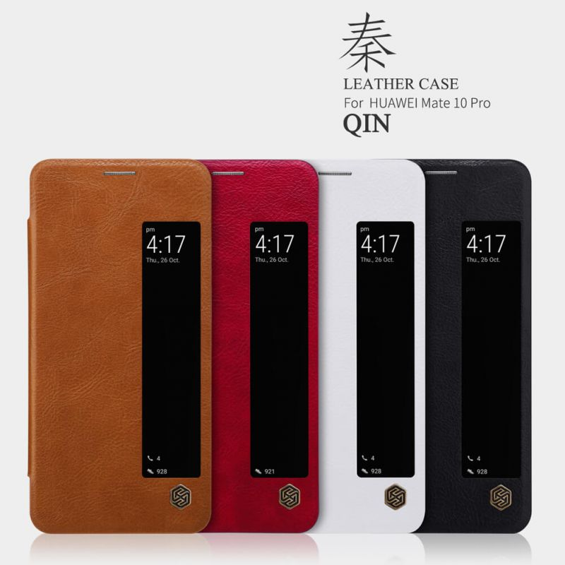 Nillkin Qin Series Leather case for Huawei Mate 10 Pro order from official NILLKIN store