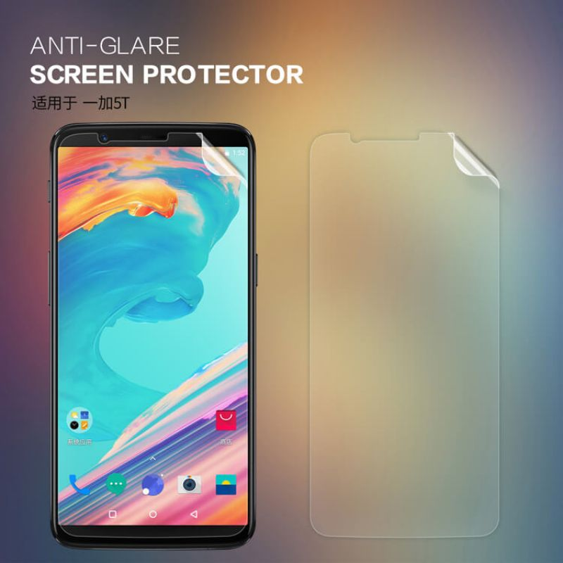 Nillkin Matte Scratch-resistant Protective Film for Oneplus 5T (A5010) order from official NILLKIN store