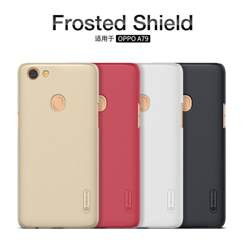 Nillkin Super Frosted Shield Matte cover case for Oppo A79 + free screen protector order from official NILLKIN store