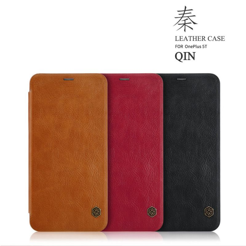 Nillkin Qin Series Leather case for Oneplus 5T (A5010) order from official NILLKIN store