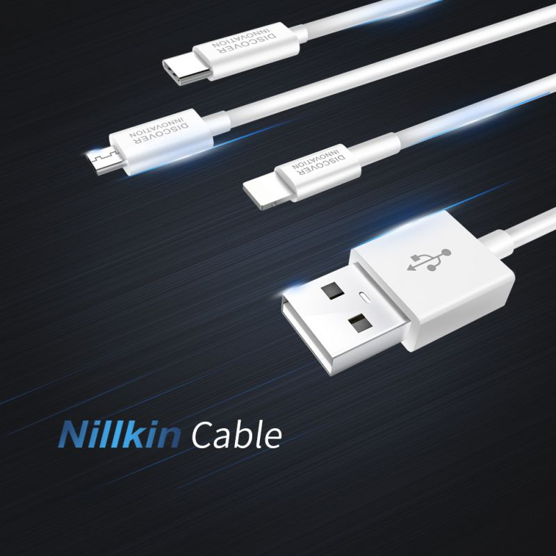 Nillkin new high quality cable USB to Lightning order from official NILLKIN store