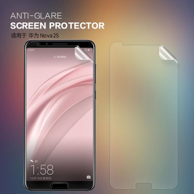 Nillkin Matte Scratch-resistant Protective Film for Huawei Nova 2S order from official NILLKIN store
