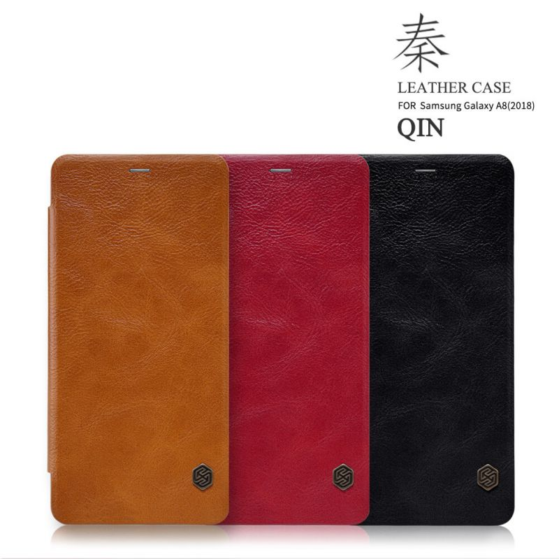Nillkin Qin Series Leather case for Samsung Galaxy A8 (2018) order from official NILLKIN store