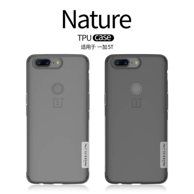 Nillkin Nature Series TPU case for Oneplus 5T (A5010) order from official NILLKIN store