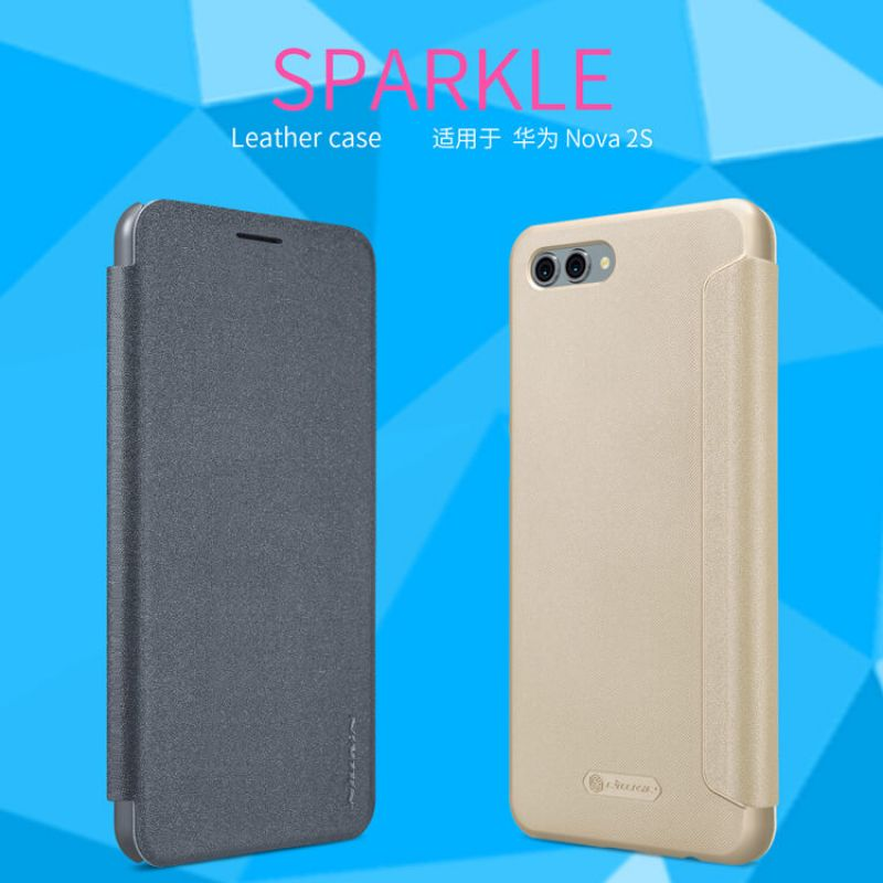 Nillkin Sparkle Series New Leather case for Huawei Nova 2S order from official NILLKIN store