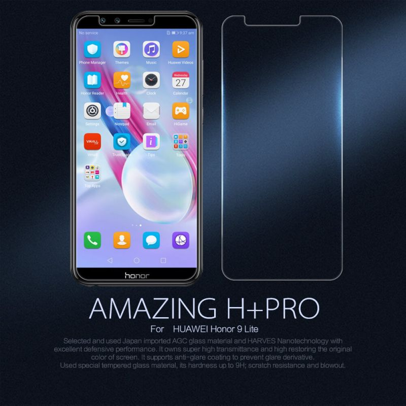 Nillkin Amazing H+ Pro tempered glass screen protector for Huawei Honor 9 Lite order from official NILLKIN store