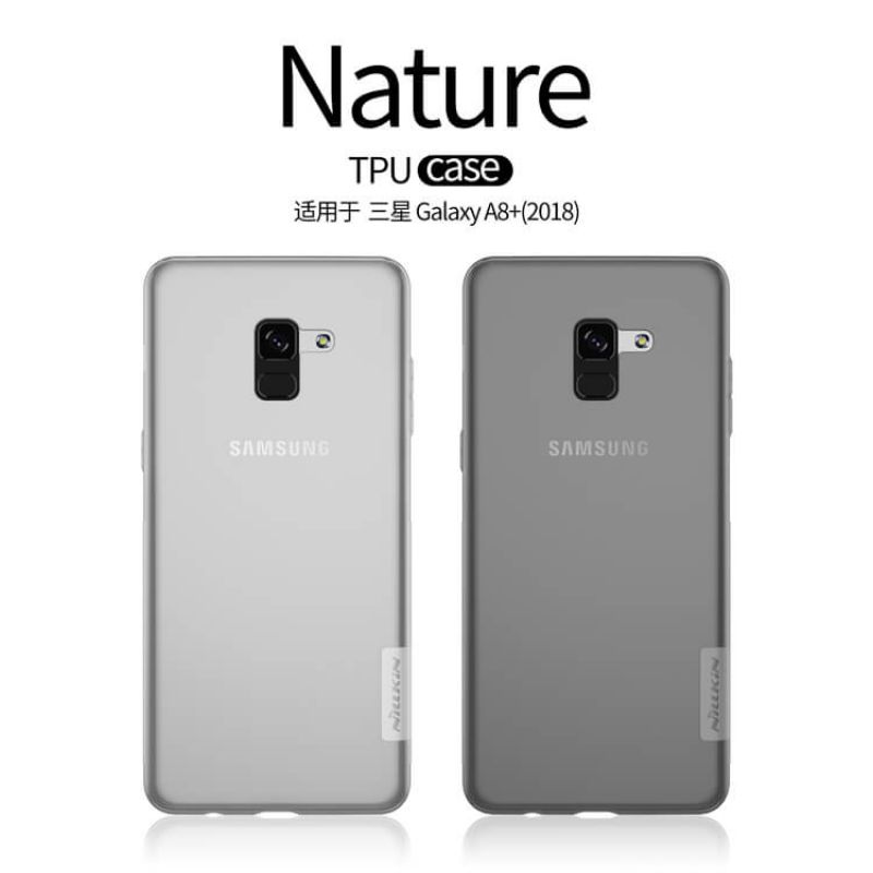 Nillkin Nature Series TPU case for Samsung Galaxy A8 Plus (2018) order from official NILLKIN store