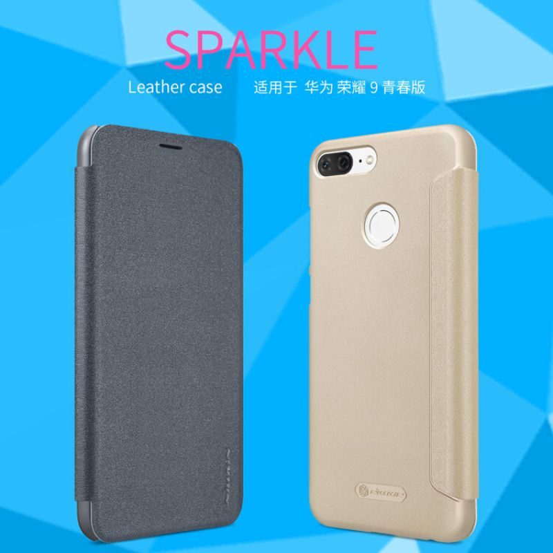 Nillkin Sparkle Series New Leather case for Huawei Honor 9 Lite order from official NILLKIN store