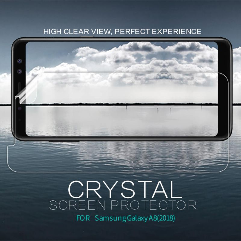 Nillkin Super Clear Anti-fingerprint Protective Film for Samsung Galaxy A8 (2018) order from official NILLKIN store