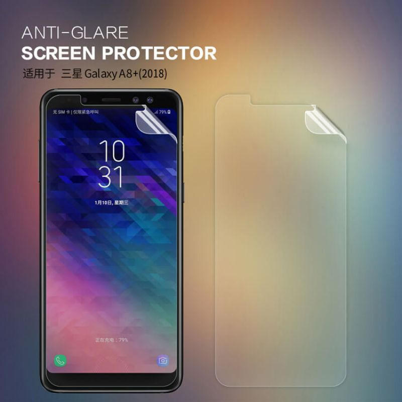 Nillkin Matte Scratch-resistant Protective Film for Samsung Galaxy A8 Plus (2018) order from official NILLKIN store