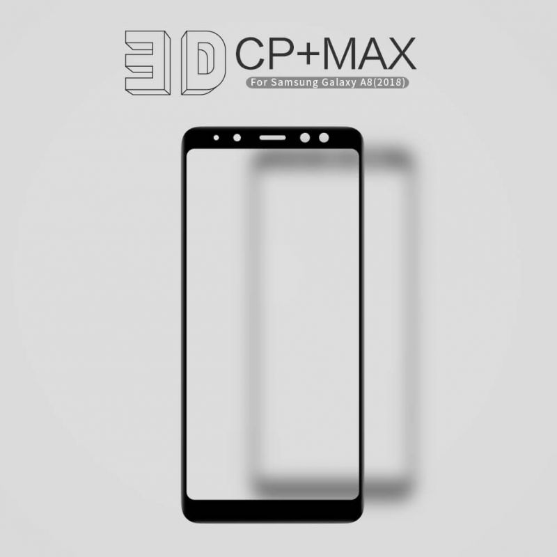 Nillkin Amazing 3D CP+ Max tempered glass screen protector for Samsung Galaxy A8 (2018) order from official NILLKIN store