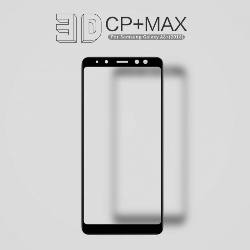 Nillkin Amazing 3D CP+ Max tempered glass screen protector for Samsung Galaxy A8 Plus (2018) order from official NILLKIN store
