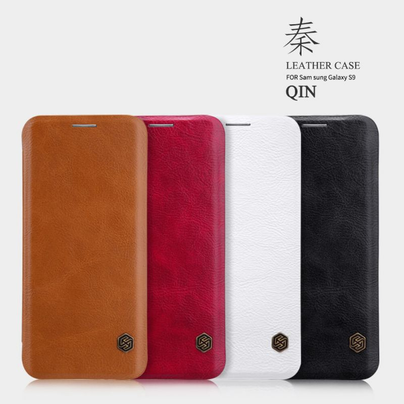 Nillkin Qin Series Leather case for Samsung Galaxy S9 order from official NILLKIN store