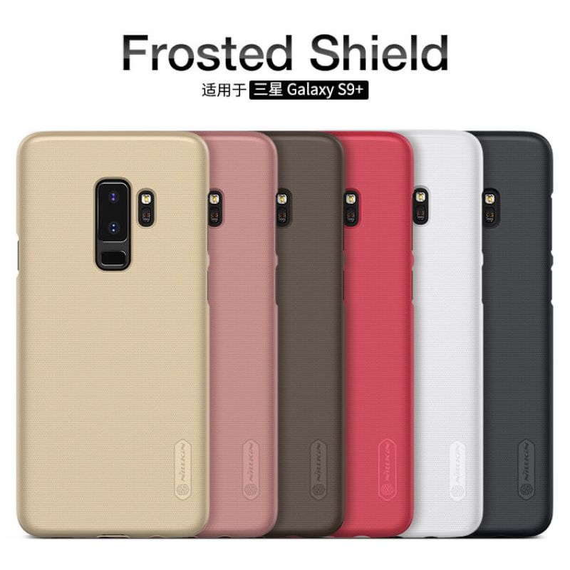 Nillkin Super Frosted Shield Matte cover case for Samsung Galaxy S9 Plus + free screen protector order from official NILLKIN store