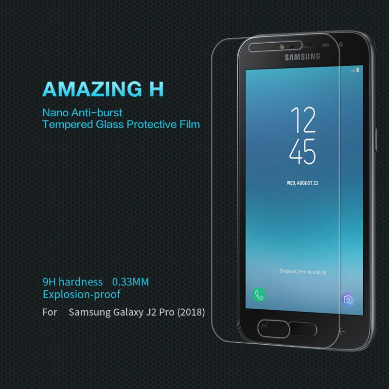 Nillkin Amazing H tempered glass screen protector for Samsung Galaxy J2 Pro (2018) order from official NILLKIN store