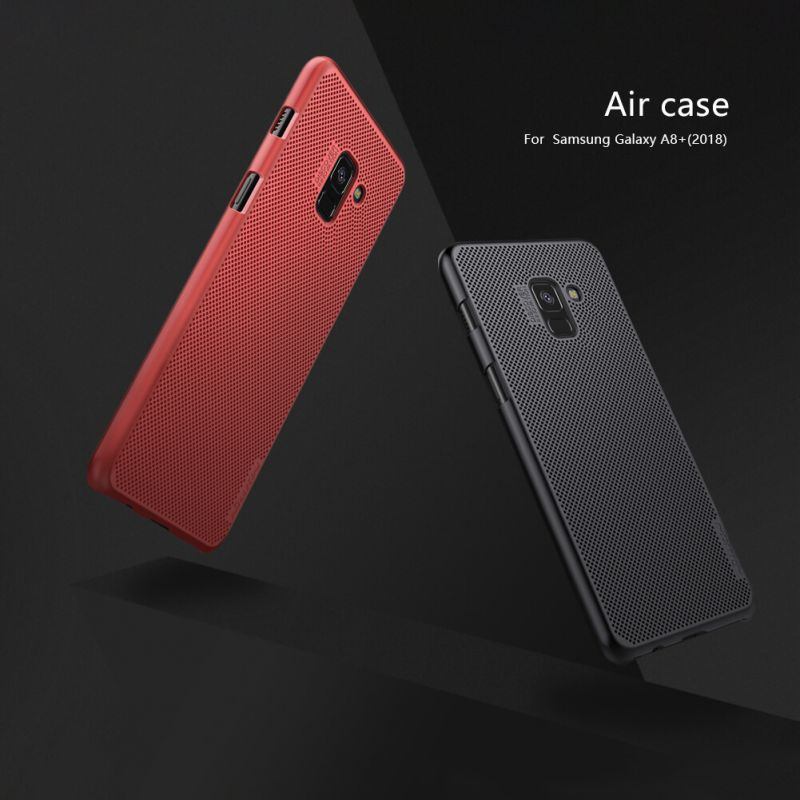 Nillkin AIR series ventilated fasion case for Samsung Galaxy A8 Plus (2018) order from official NILLKIN store