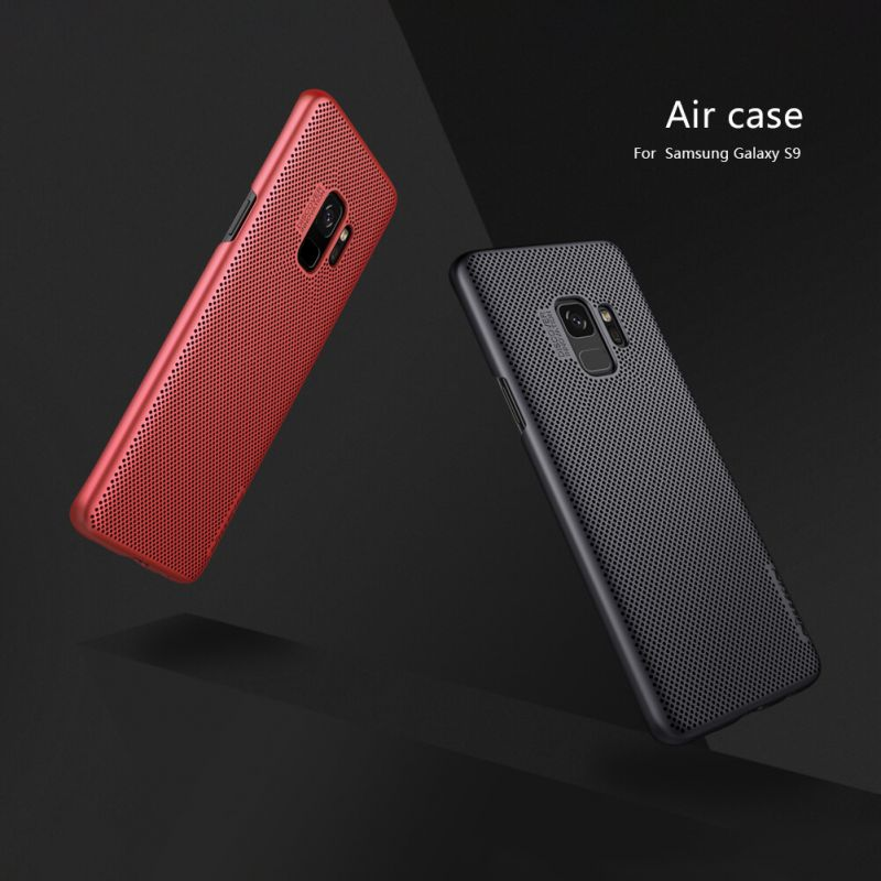 Nillkin AIR series ventilated fasion case for Samsung Galaxy S9 order from official NILLKIN store