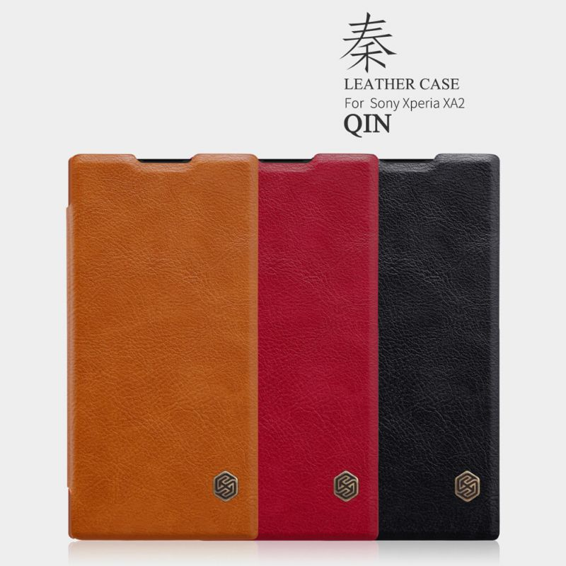 Nillkin Qin Series Leather case for Sony Xperia XA2 order from official NILLKIN store
