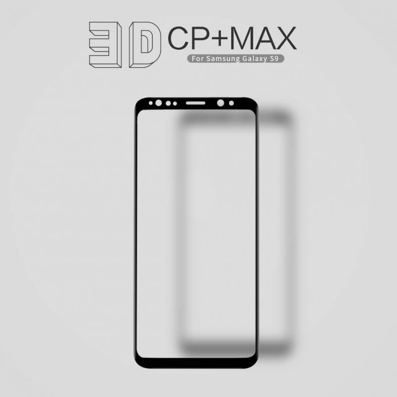 Nillkin Amazing 3D CP+ Max tempered glass screen protector for Samsung Galaxy S9 order from official NILLKIN store