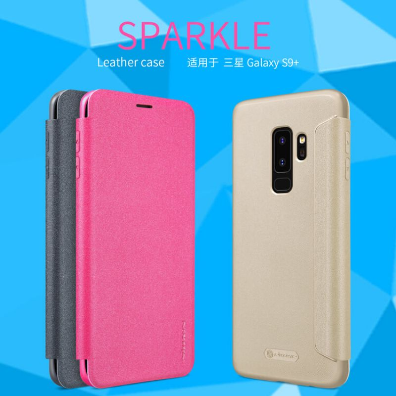 Nillkin Sparkle Series New Leather case for Samsung Galaxy S9 Plus order from official NILLKIN store