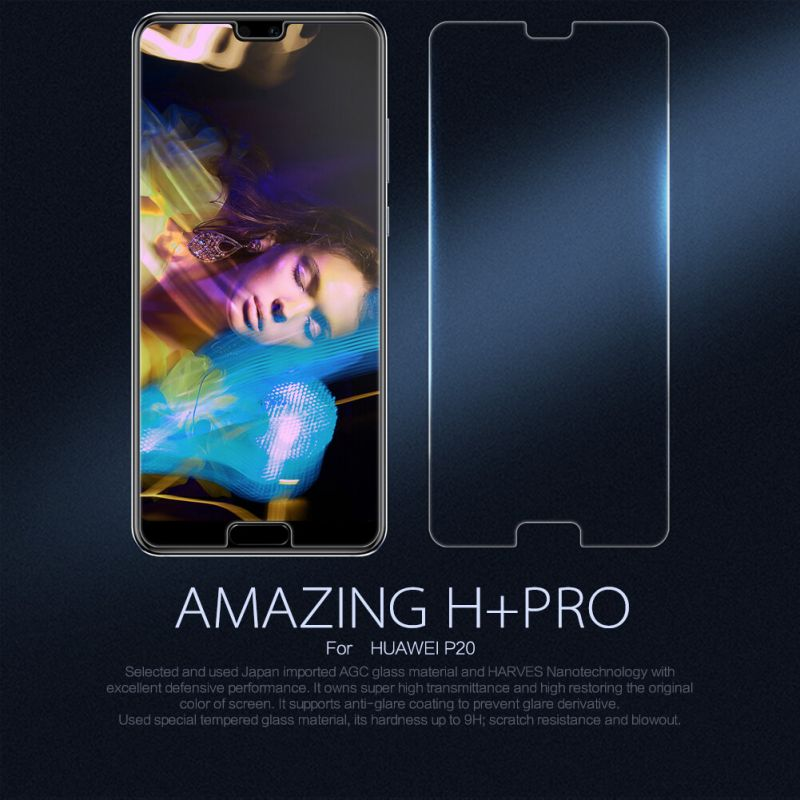 Nillkin Amazing H+ Pro tempered glass screen protector for Huawei P20 order from official NILLKIN store