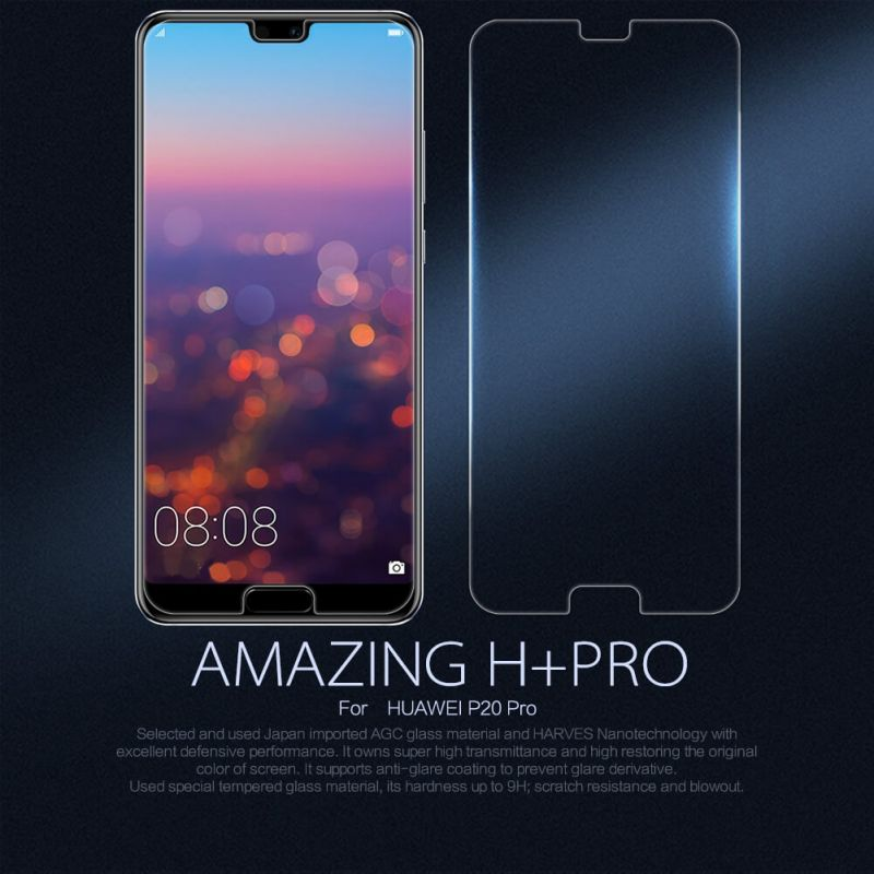 Nillkin Amazing H+ Pro tempered glass screen protector for Huawei P20 Pro order from official NILLKIN store
