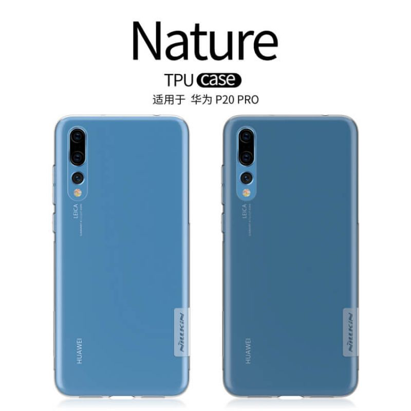Nillkin Nature Series TPU case for Huawei P20 Pro order from official NILLKIN store