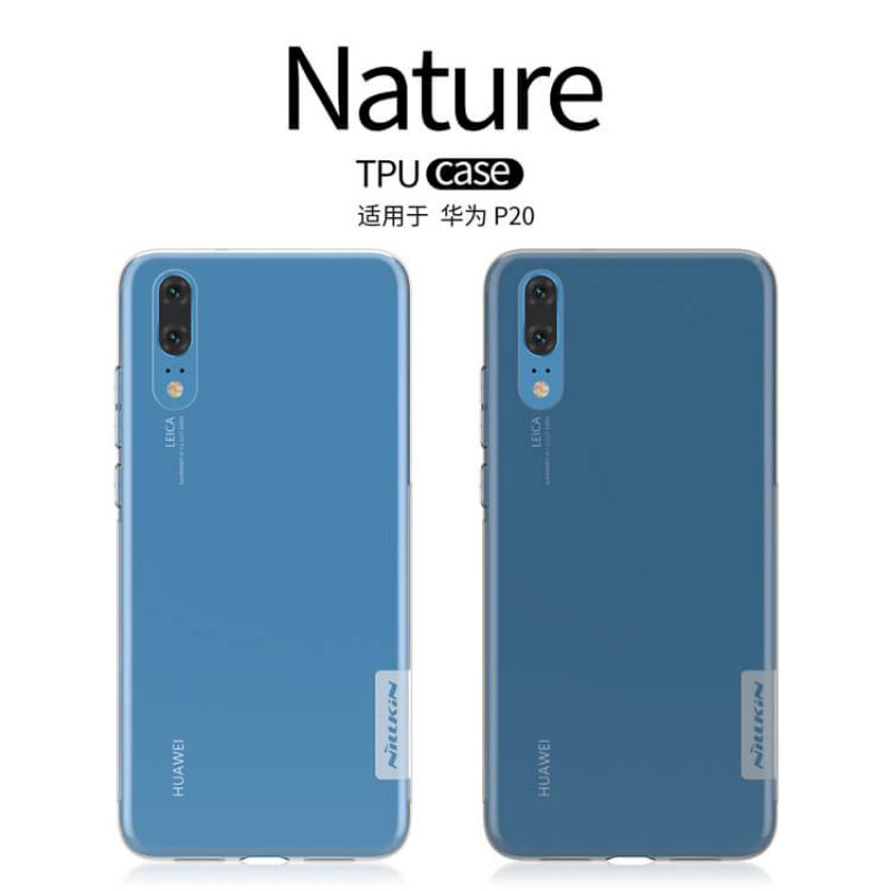 Nillkin Nature Series TPU case for Huawei P20 order from official NILLKIN store