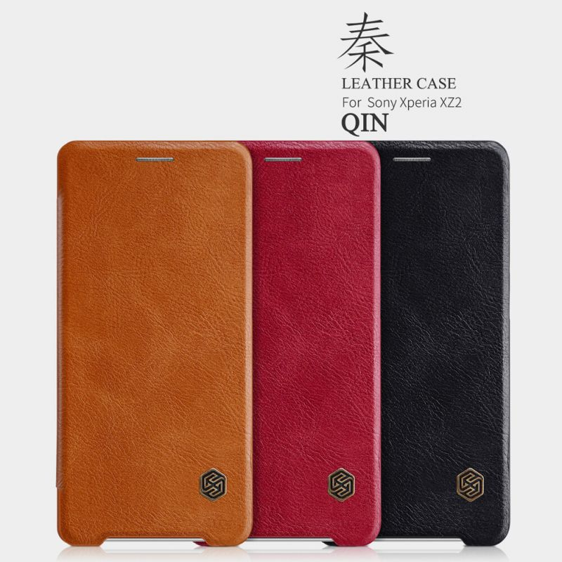 Nillkin Qin Series Leather case for Sony Xperia XZ2 order from official NILLKIN store