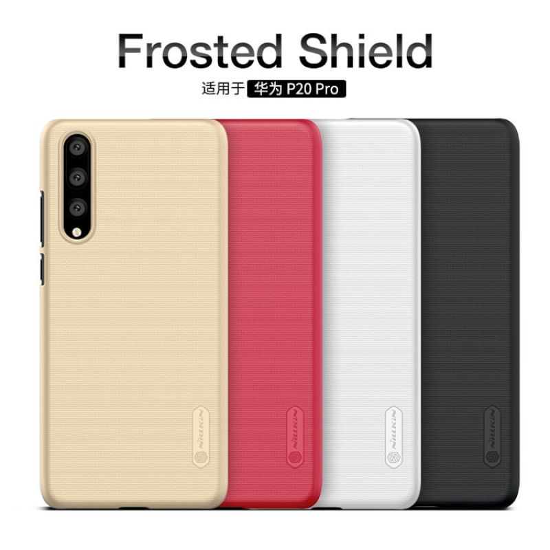 Nillkin Super Frosted Shield Matte cover case for Huawei P20 Pro + free screen protector order from official NILLKIN store